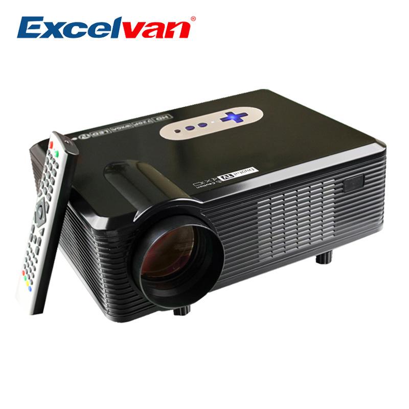 Prix pour Excelvan CL720D Projecteur 3000 Lumens Soutien 1080 P HD Home Cinéma 720 P Led Projecteur HDMI/VGA/USB/AV/DTV Projecteur