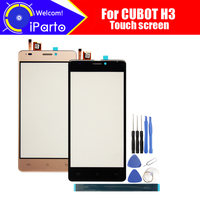 5.0 inch CUBOT H3 Digitizer Touch Screen 100% Guarantee Original Glass Panel Touch Screen Glass For CUBOT H3+tools+Adhesive