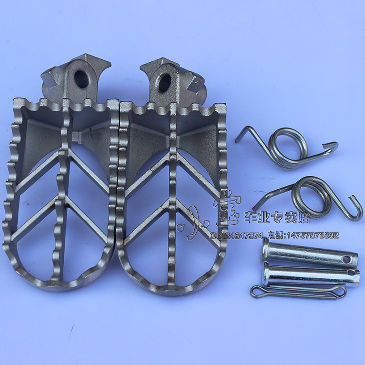 Refires Offroad motorcycle Foot Pegs pedals Foot rests huayang 160 hk t8 ph zhenglin stainless steel pedal