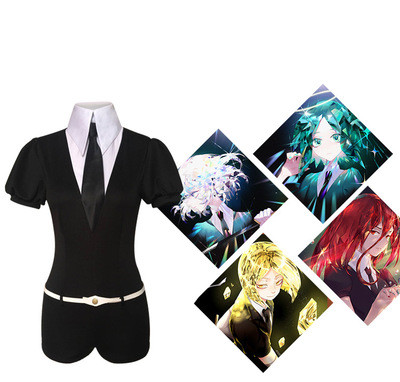 Anime Houseki no Kuni Costumes Phosphophyllite Diamond Bort bodysuit Cosplay Costumes Accessories Jumpsuits