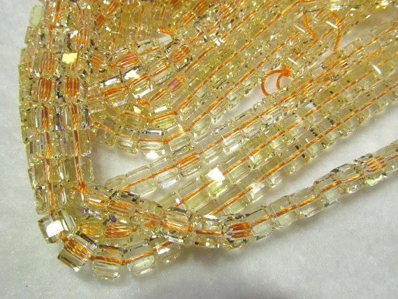 А. А. Оценка 6-8 мм цитрин кварц Рок Кварц поле кубических граненый Желтый Чистый Белый  ...