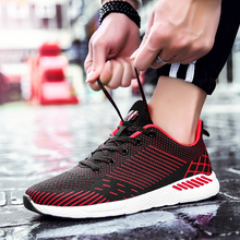 MIUBU 2019 Men Casual Spring Autumn Mens Breathable Flats Shoes Zapatillas Hombre Fashion Shoes Increase the size of 35-47 adult недорого