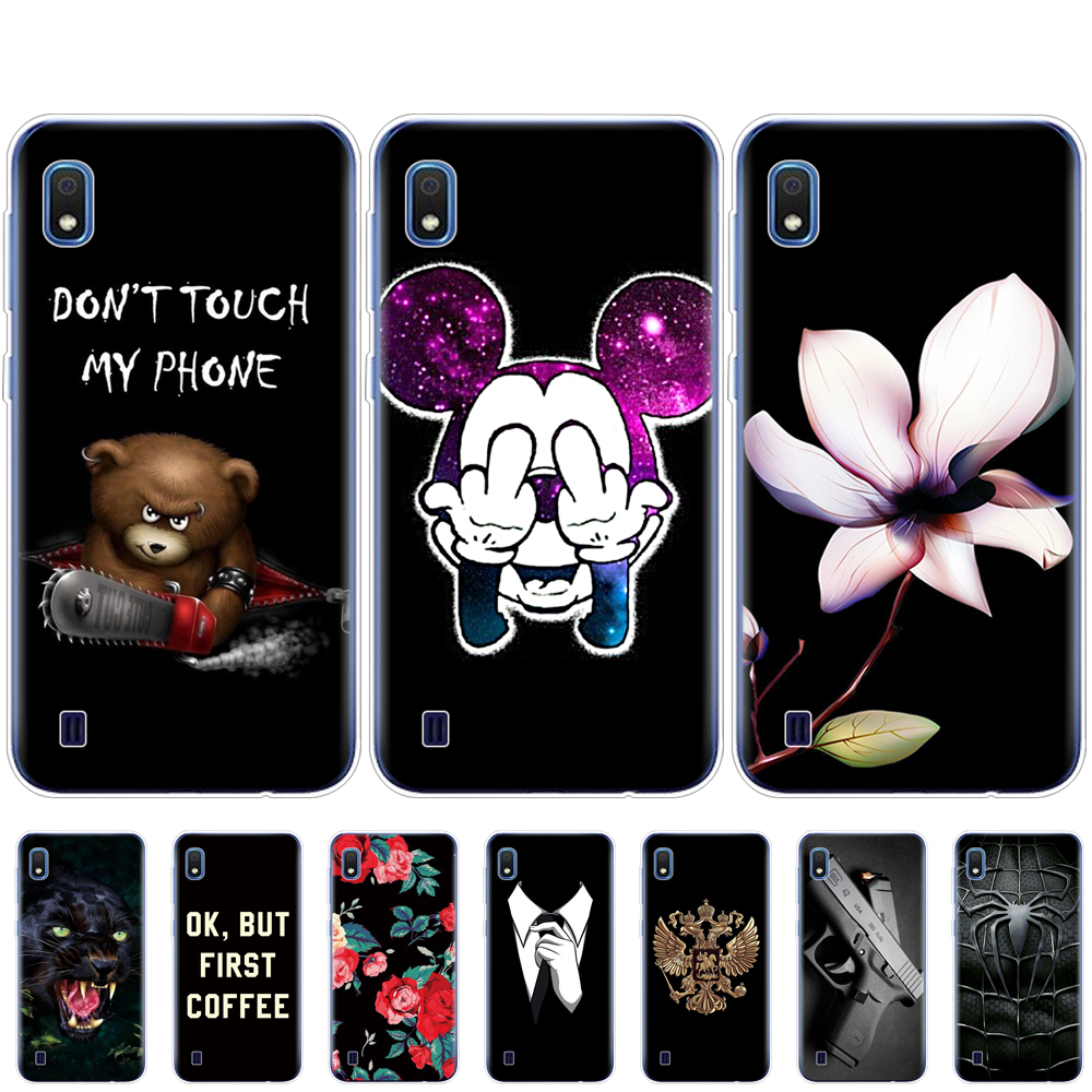 For <font><b>Samsung</b></font> <font><b>A10</b></font> Case Soft Silicone tpu Back Cover Phone Case For <font><b>Samsung</b></font> Galaxy <font><b>A10</b></font> GalaxyA10 A 10 SM-A105F A105 A105F <font><b>coque</b></font> image