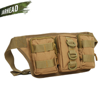 Army Military Waist Pack Bag Jungle Hunter Ranger CP Camo Waist Pocket Outdoor Tactical Sports Riding