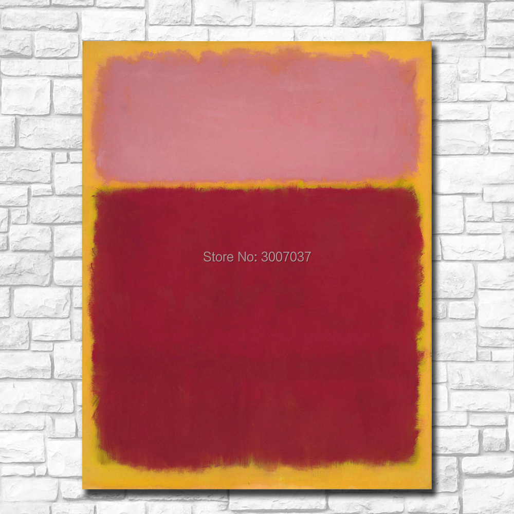 Large Size Wall Pictures For Living Room Abstract Mark Rothko painting On Canvas Art Home Decor Modern Oil PaintingLarge Size Wall Pictures For Living Room Abstract Mark Rothko painting On Canvas Art Home Decor Modern Oil Painting