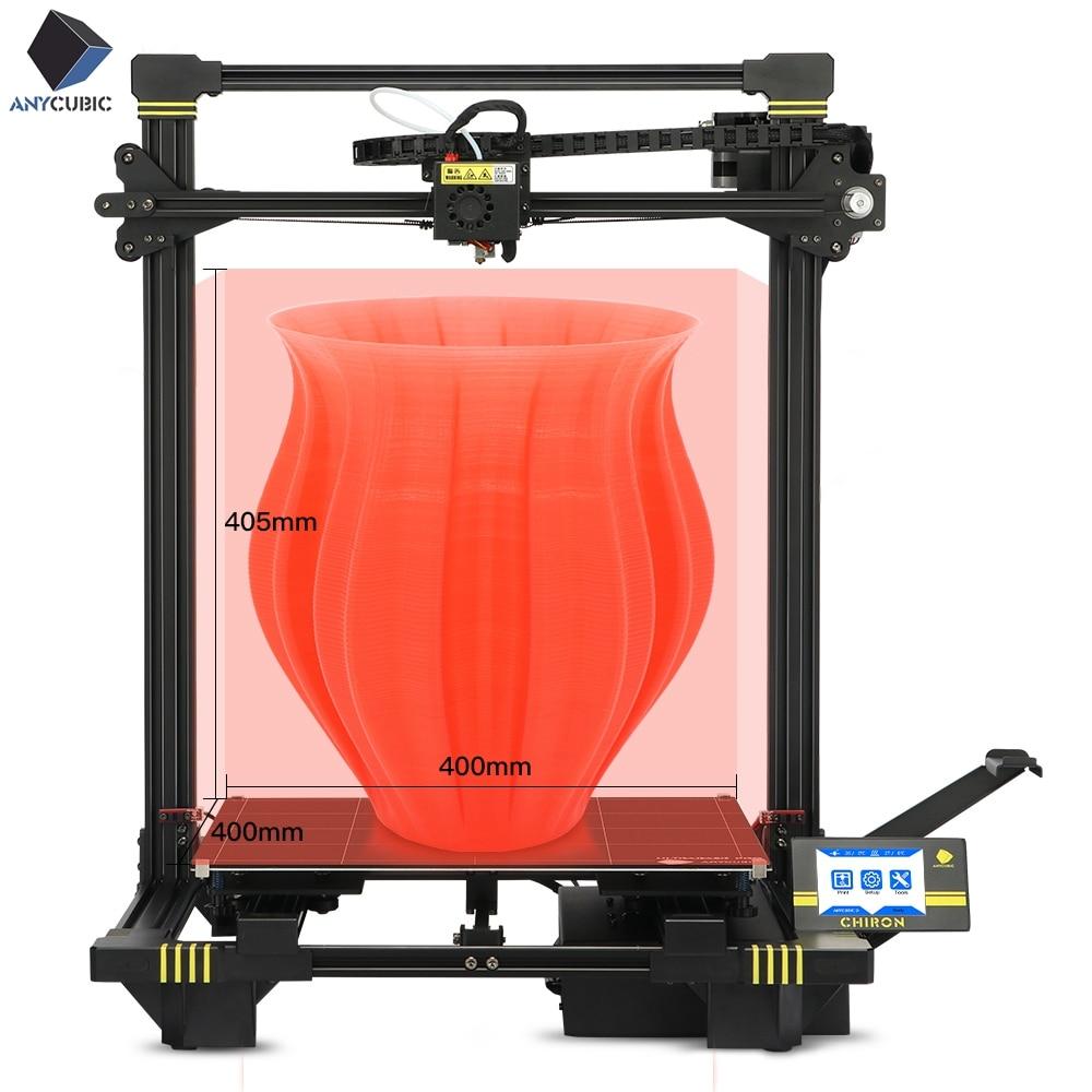 2019 Anycubic 3D Printer Plus Size Pringting 3d Printer Kits DIY FDM TFT Ultrabase High Precision