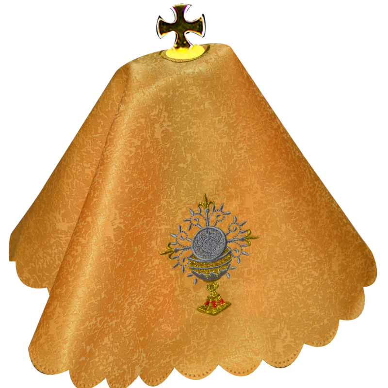 US $16 19 10% OFF|Catholic Eucharistic Cloth Church Supplies The Sacraments  of The Church Priest Holy Ritual Supplies Catholicism Ceremony Goods-in