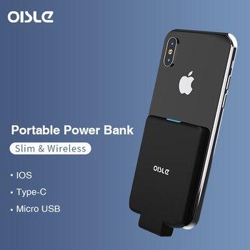 d7e5dc714c1 Banco Do Poder fino Para iPhone X Huawei P30 Samsung S9 Bateria Caso—Expedição  gratuita