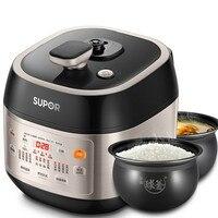 Умный электрический Давление плита риса суп тушить Ho применение держать сроки многофункциональный большой емкости ЖК дисплей проста в исп