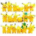 18pcs/set Kawaii Cute Pikachu Anime Action Figure PVC Toys