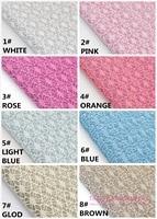 10PCS NEW LEATHER High Quality DIY PU Lace Glittle Leather 30X26 5cm Per Pcs 10 Colors