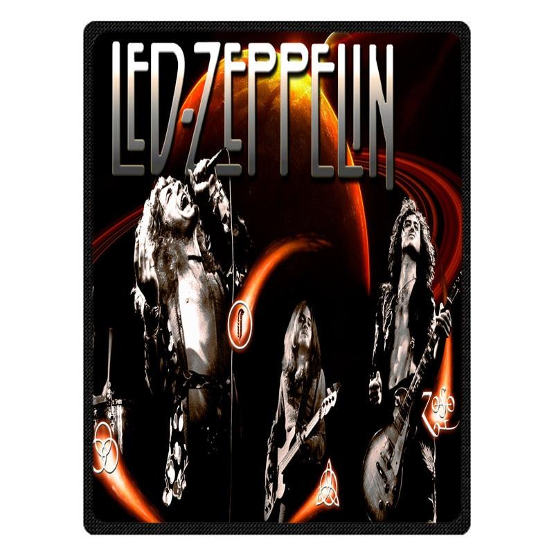 Hot Flannel Sofa Blanket Led Zeppelin Super Warm Soft