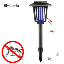 Hi-Lumix LED Solar Powered Light UV White Anti Mosquito Insect Pest Bug Killer Outdoor Yard Garden Lawn Hanging Lantern Lamp