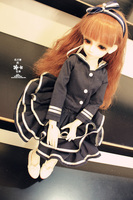 Free Shipping High Quality Handmade 4pcs Set Doll Clothes For 1 3 1 4 1 6