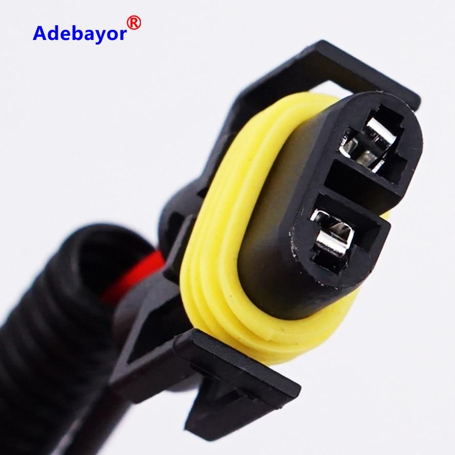 2x h11 h8 conector lámparas versión zócalo lámparas zócalo cable versión auto KFZ