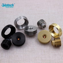 Glotech 3 шт./компл. 510 нить теплоотвод адаптер для RDA РБА форсунок + дрип-тип теплоотвод + защита переходное кольцо