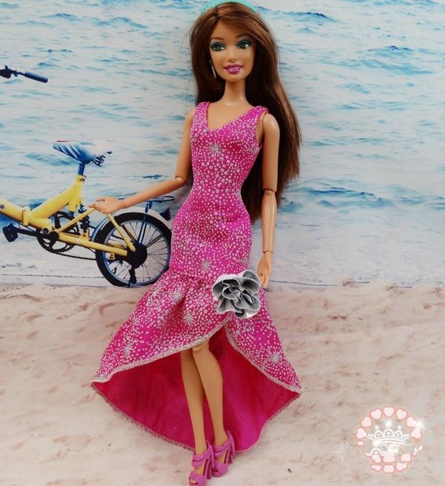 AILAIKI Toy 100pcs / lot Pakaian Jenama Asal Jenama Pakaian Bergaya - Anak patung dan aksesori - Foto 4