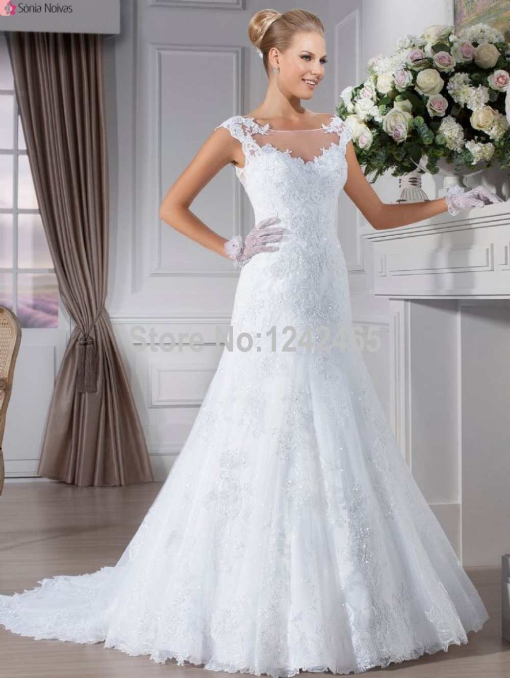 organza sleeveless classic wedding dress boat neck wedding dress sleeveless wedding dress illusion boat neckline organza sleeveless wedding dress illusion boat neckline