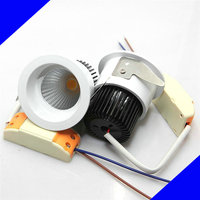2016 Newest 9W 12W 15W New Very Bright LED COB chip downlight Recessed LED Ceiling light Spot Light Lamp White/ warm white