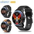 KOSPET Optimus Pro 3 GB 32 GB 800 mAh Batterie Dual Systeme 4G Smart Uhr Telefon wasserdicht 8.0MP 1,39