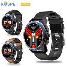 KOSPET Optimus Pro 3 ГБ 32 ГБ 800 мАч Bluetooth Dual 4G SmartWatch телефон водонепроницаемый 8.0MP 1,39 «мужские Смарт-часы для Android IOS