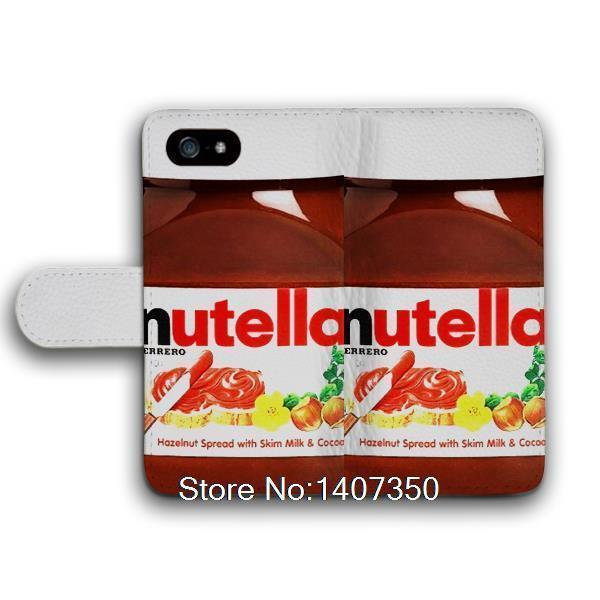 Chocolate Nutella Bottle Funny Protective Leather Cover Case For iPhone 4 4S  Top High Quality Printed Covers