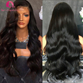 Deep Part Lace Front Wig Body Wave Brazilian Hair For Black Woman 13*6 Lace Frontal Human Hair Wigs Natural Wave Full Lace Wig