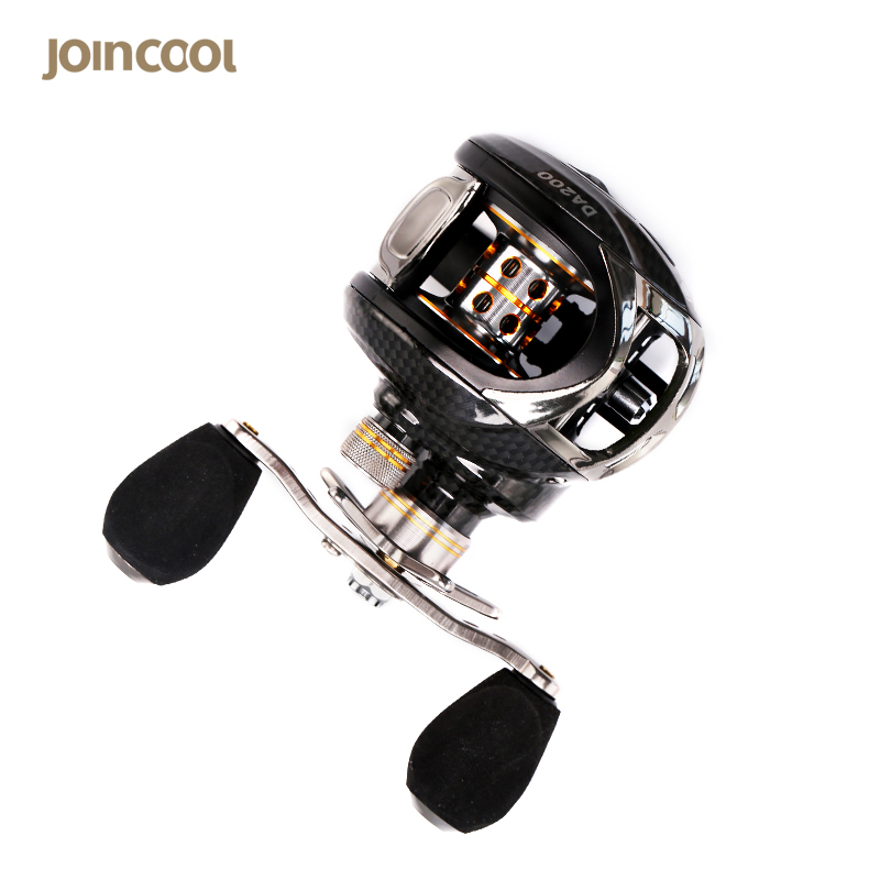 JoinCool 10+1BB Left/Right Hand Bait Casting Carp Fishing Reel Ball Bearings 6.3:1 Gear Ration High Speed Baitcasting Reel Pesca stealth 3bb 1rb plastic body bait casting carp fishing reel high speed baitcasting pesca 6 2 1 lure reel