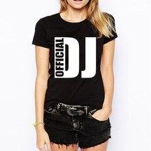 """""""Official DJ"""" women's shirt / girlie"""