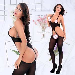 lingerie sexy hot erotic jumpsuit stockings