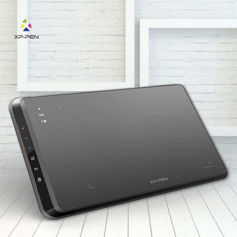 XP-Penna Star05 Della Batteria Senza Fili-libera Dello Stilo Grafica Disegno Tablet/Tavolo Da Disegno con Touch Espresso Chiavi