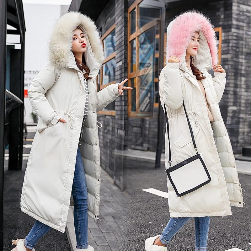 Outwear Manteau Femmes 2 gray caramel Mode Occasionnels Capuchon Hiver Long 1 1 white Imitation 2018 1 Raton Plus Laveur Taille Cheveux 2 La black black Parkas Nouvelle Caramel 2 2 pink Dames Lâche 2 white À gray 1 pqIzHv