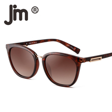 JM Polarized Gradient Classic Sunglasses Retro Cat Square Sun Glasses Women Men Eyeglasses