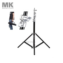 Selens Air-Cushion Heavy Duty Light Stand 220cm 7.2ft SGT-2200A with carrying Bag support system lighting holder