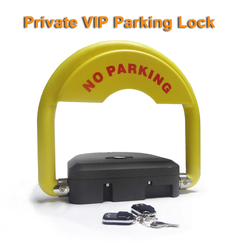 Intelligent Smart Car Parking Lock With Anti-theft