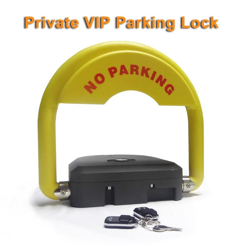 Intelligent Smart Car Parking Lock With Anti-theft