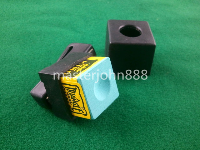 Pool Billiards Snooker Magnetic Chalk Holder With ...
