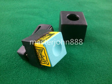Pool Billiards Snooker Magnetic Chalk Holder With Belt Clip+1 Free Shipping Wholesales