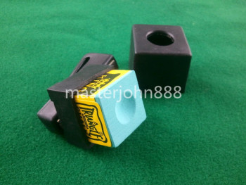 Pool Billiards Snooker Magnetic Chalk Holder With Belt Clip+1 Free Chalk Free Shipping Wholesales цена 2017