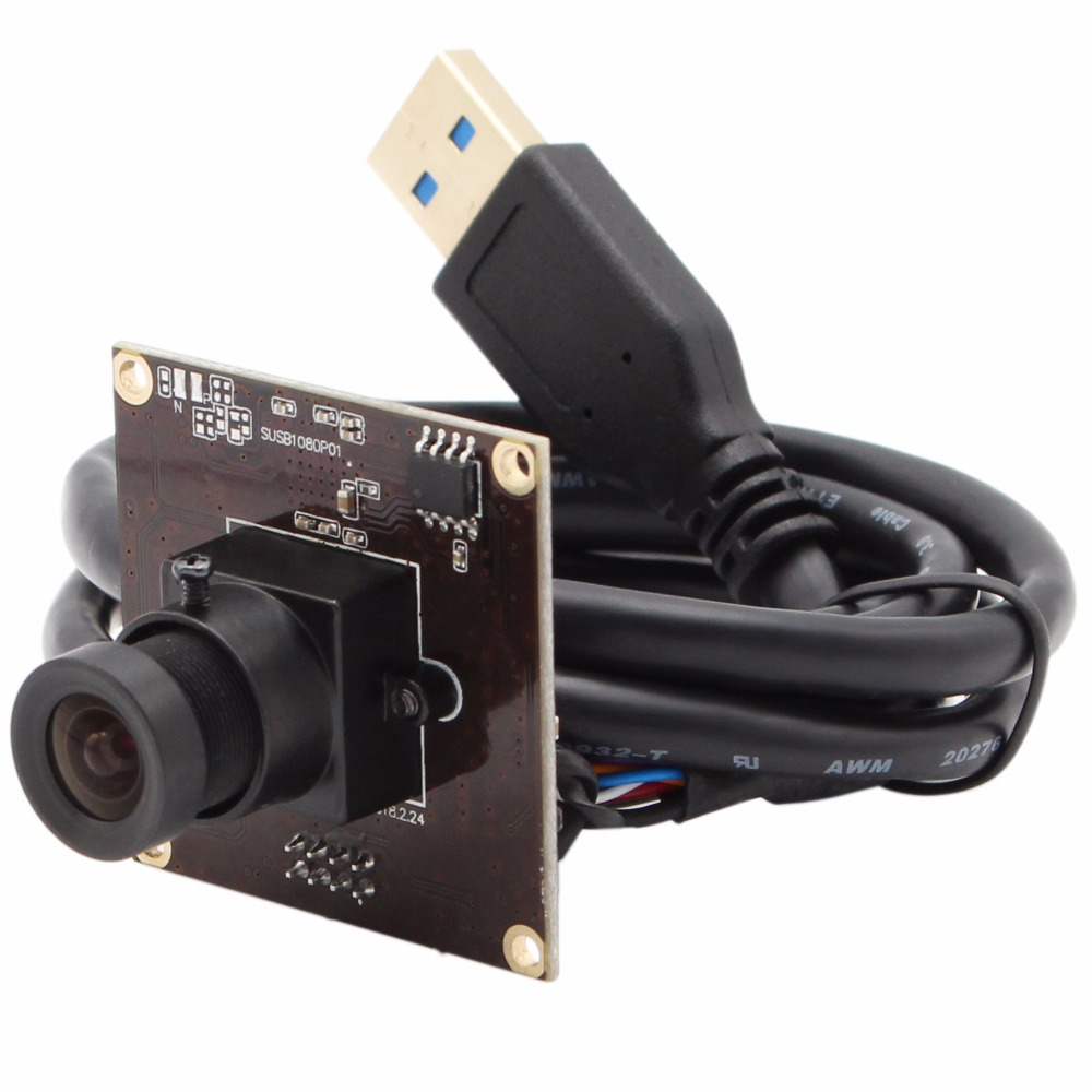 USB 3.0 camera module 1920*1080 MJPEG YUYV 50fps Sony IMX291 38*38mm mini USB camera module for Android Linux Window Mac-in Surveillance Cameras from Security & Protection    1