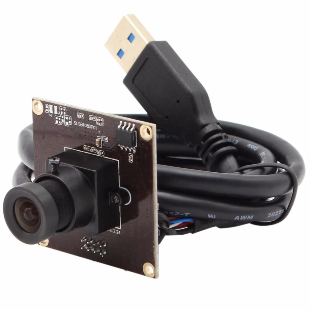USB 3.0 camera module 1920*1080 MJPEG YUYV 50fps Sony IMX291 38*38mm mini USB camera module for Android Linux Window Mac elp sony imx291 usb 3 0 webcam mjpeg yuy2 50fps 2megapixel high speed uvc otg 1080p camera module for android linux windows mac