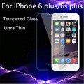 0.26mm hd vidrio templado transparente para apple iphone 4 4s 5 5S 5c 6 6 s 7 plus premium protector de pantalla anti shatter cine