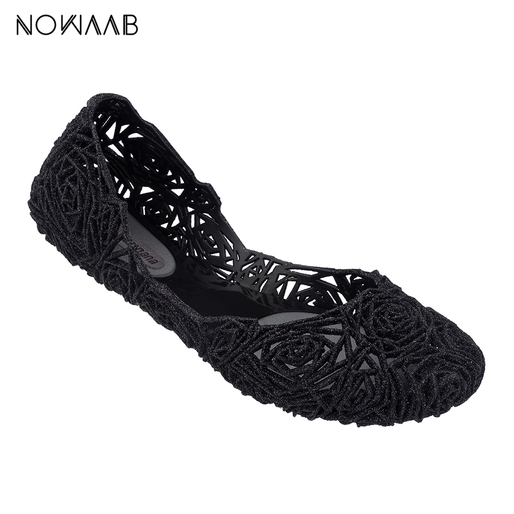 Melissa Campana Fitas II 2019 Women Flat Sandals Brand Melissa Shoes For Women Jelly Sandals Female Jelly Shoes