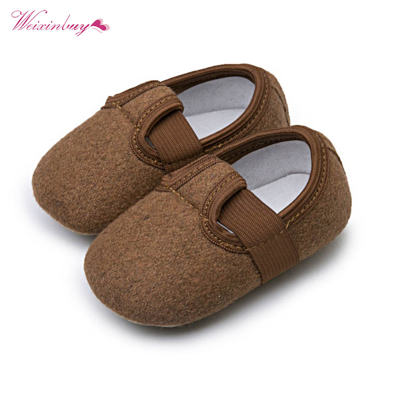 Newborn Baby Boy Girl First Walkers Baby Moccasin Shoes Prewalkers for Bebe Kids Crib Shoes