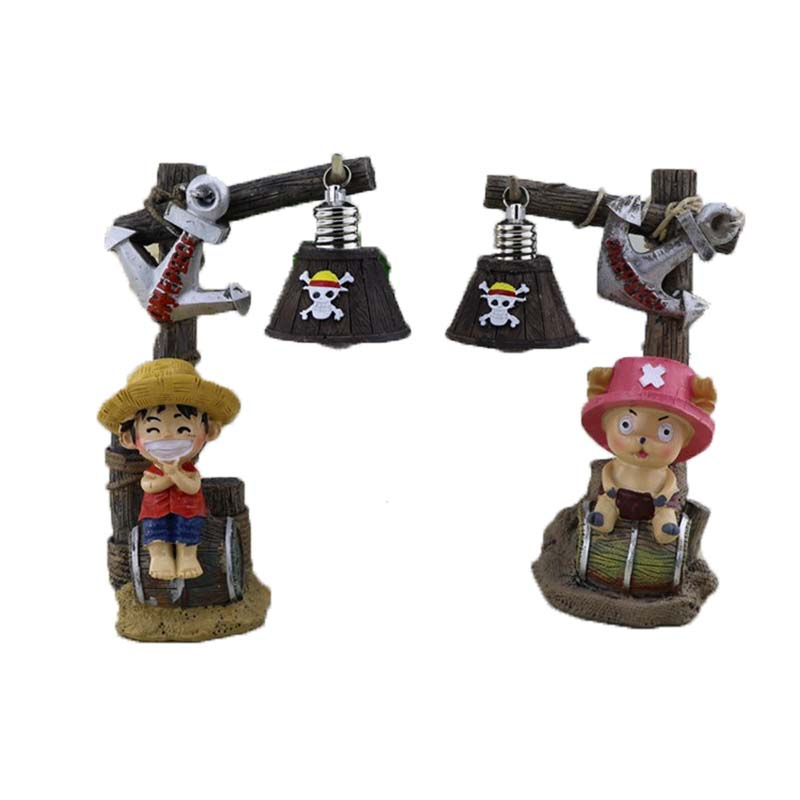 One Piece Classic Night Resin Lamp Figurines Desk Decoration In