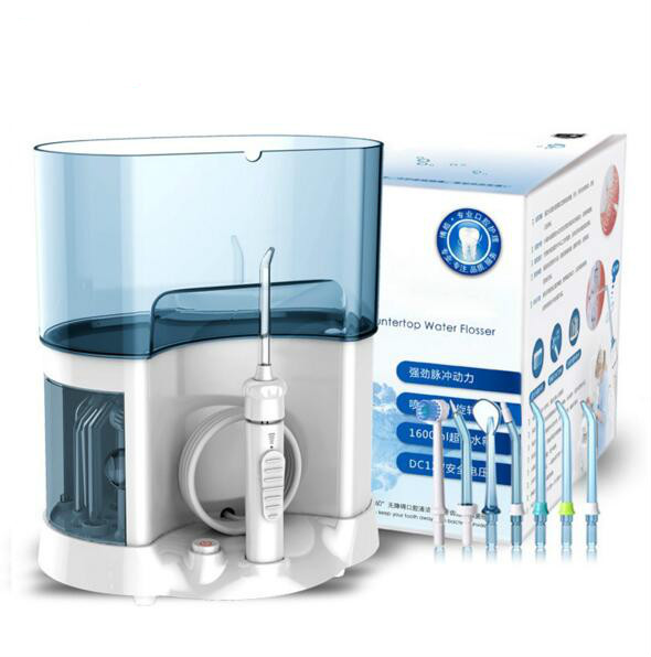 Professional Oral Irrigator Water Flosser Irrigation Dental Floss Waterpick Family What Pick Oral water pick professional rechargeable oral irrigator water flosser irrigation dental floss family whitening cleaning mouth denture cleaner