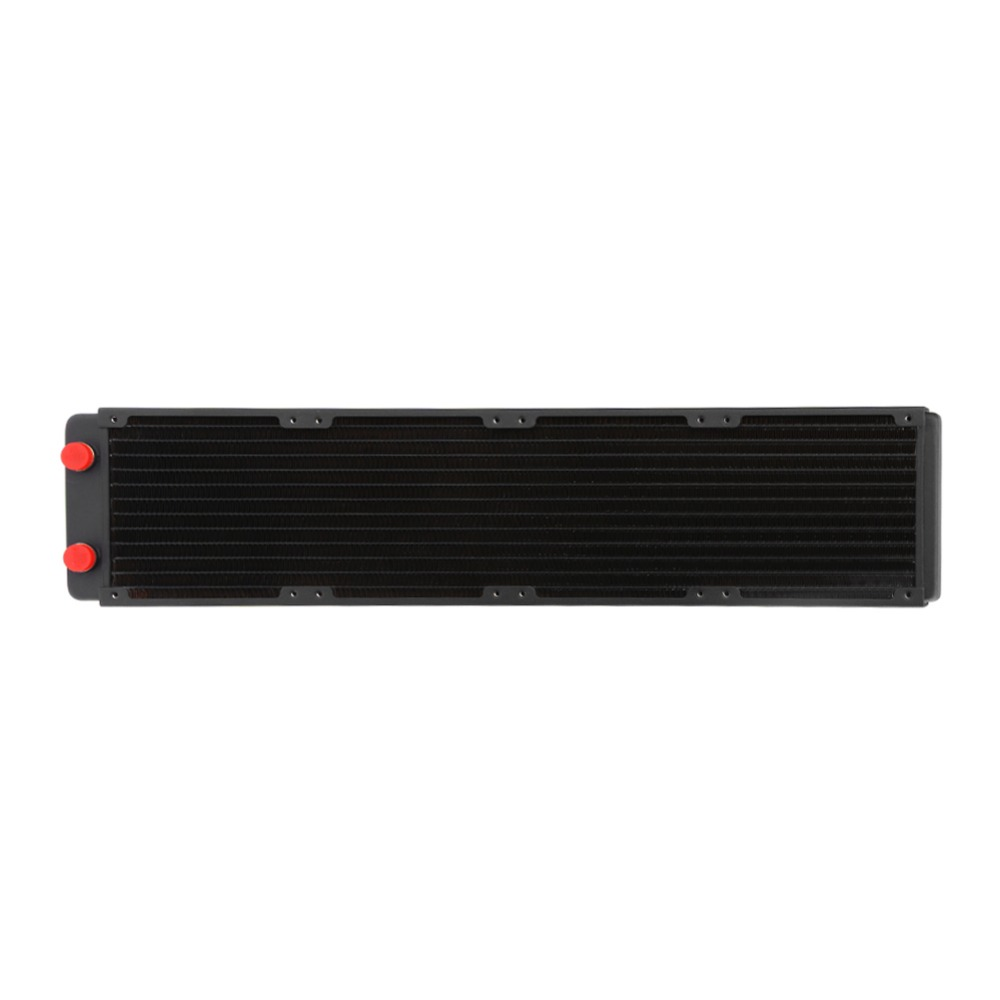 ALLOYSEED 480mm 13 Tubes G1/4 Thread Computer Water Discharge Liquid Heat Radiator PC water cooling system radiator