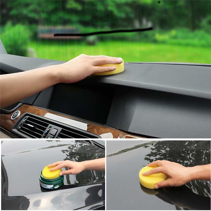 High Quality 10Pcs Car Waxing Polish Foam Sponge Wax Applicator Cleaning Detailing Pads
