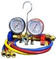 La Adición de freón Manómetro Para Auto Aire Conditiong Syetem y R12 R22 R502 Manifld Gauge