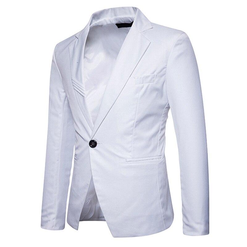 Manteau 2018 Z30 Manches Veste Slim gray Longues Black Costumes Mâle Mode Manteaux Turn Vestes white Casual Bas Blazers Fit Col Le Hommes Hot Vers Soild red 17nwrCq1xH